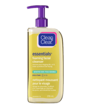 CLEAN & CLEAR ESSENTIALS® Foaming Facial Cleanser for Sensitive Skin